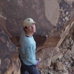 Petroglyphs at Jicarilla Point, Grand Canyon, USA