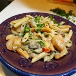 peppered shrimp alfredo recipe photos