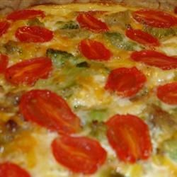 Garbage Quiche Recipe