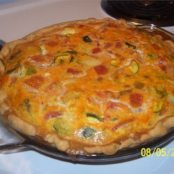 Vegetarian Quiche Recipe
