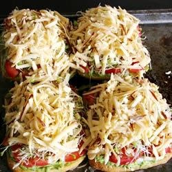 The Best Veggie Sandwich, uncooked