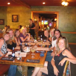 Bachelorette Dinner, Crosslake MN