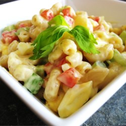 Amish Macaroni Salad Recipe And Video A Colorful Flavorful Made With Hard