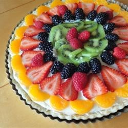 Photo of Beautiful Summer Fruit Tart by larkspur