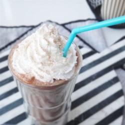 Cinnameg Chocolate Milkshake