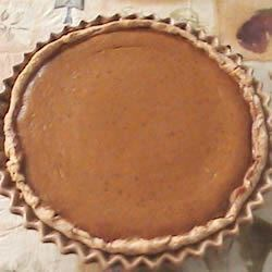 Pilgrim Pumpkin Pie Recipe