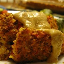 Image of Alissa's Vegetarian Lentil Meatloaf, AllRecipes
