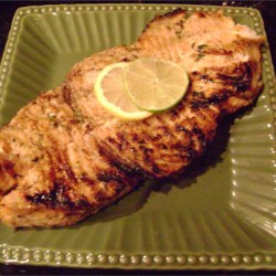 Grilled Marinaded Swordfish