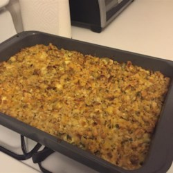 Chicken, Stuffing and Green Bean Casserole