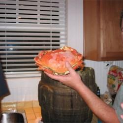 Mmmm, crab!