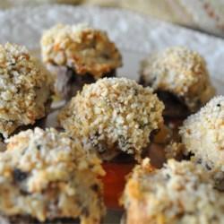 mouth watering stuffed mushrooms printer friendly