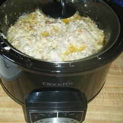 Slow Cooker Chicken Dressing