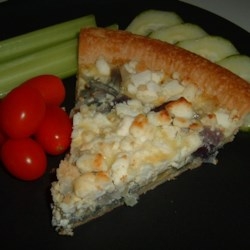 Red Onion and Goat Cheese Tart Recipe