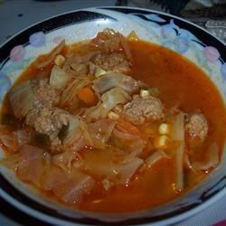 Hot and Sour Cabbage Soup Recipe