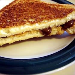 Photo of Peanut Butter Cup Grilled Sandwich by D J