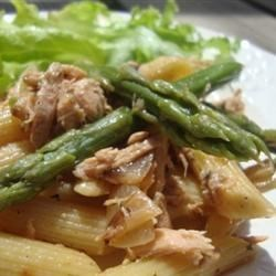 Photo of Farfalle with Asparagus and Smoked Salmon by Myra