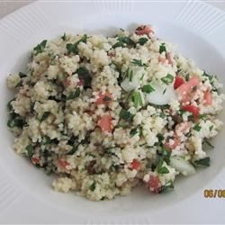 Lemon Tabouli Recipe