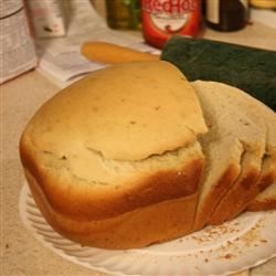 Super Easy Rosemary Bread Machine Bread