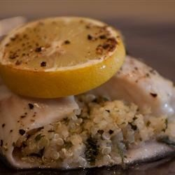 Italian-Style Quinoa-Stuffed Sole Recipe