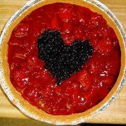 black heart cheesecake