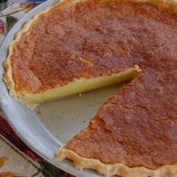 Buttermilk Chess Pie Recipe