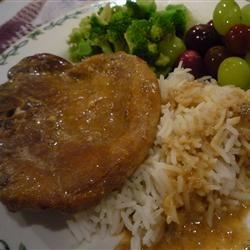 Cream of Mushroom and Soy Sauce Pork Chops