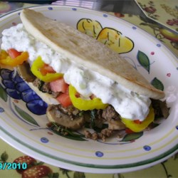 Scyros (Pita Sandwich) Recipe
