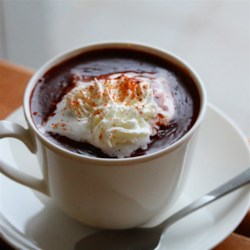 cioccolata calda hot chocolate italian style printer friendly