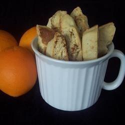 Orange Biscotti