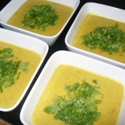 Carrot Coconut Lime Soup Recipe