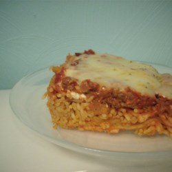 Spaghetti Pie I Recipe