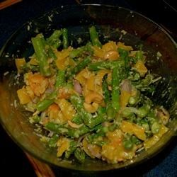 Roasted Asparagus and Yellow Pepper Salad Recipe