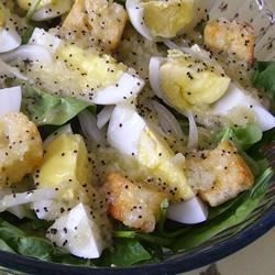 Image of Vidalia Onion Spinach Salad, AllRecipes