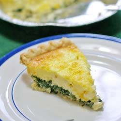 Spinach-Feta Quiche