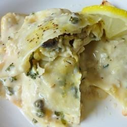 Lemon Chicken Ravioli