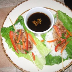 Asian Roll Lettuce Wrap Recipe