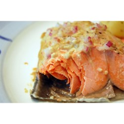 Dijon Garlic Salmon Recipe