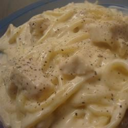 Black and Bleu Chicken Alfredo Recipe