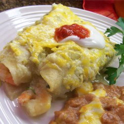 Shrimp Enchiladas Suizas Recipe