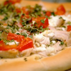 Chicken Garlic Pizza Recipe