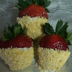 Frosted Strawberries Recipe