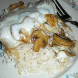 Mozzarella Mushroom Chicken Recipe