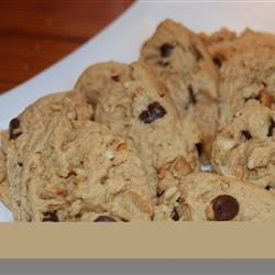 Photo of Peanut Butter Cookies with Chocolate Chunks by Stephanie