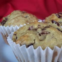 Photo of Cranberry Chocolate Orange Muffins by Sarah-May