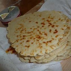 Piadina Romagnola (Italian Flat Bread)
