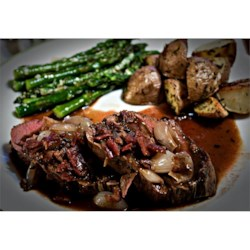 Beef Tenderloin With Roasted Shallots Recipe