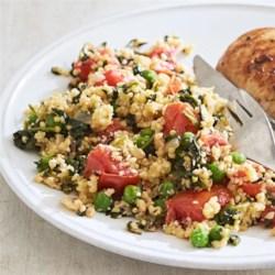 Vegetable Birdseed Pilaf