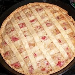 Photo of Rhubarb Cream Pie by Jean