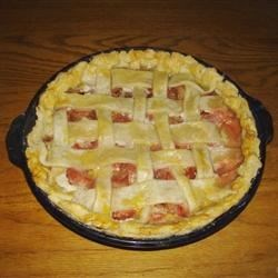 Photo of Rhubarb Pie by Carolyn Klotz