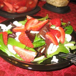 Strawberry and Feta Salad (March 25, 2010)